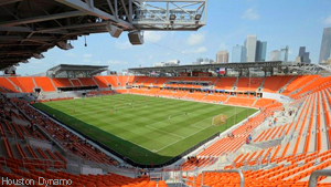 BBVA Stadium - the new home of the Houston Dynamo (MLS)