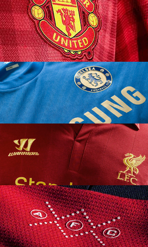 Premier League (EPL) 2012-13 Kit Review