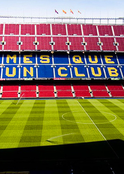 Camp Nou - home stadium of FC Barcelona