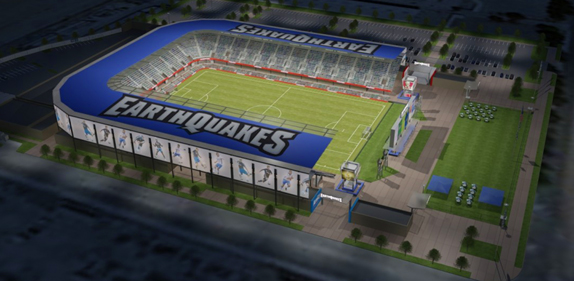 New San Jose Earthquakes stadium